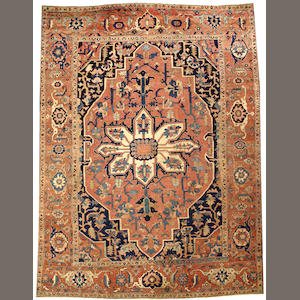 A Serapi carpet  Northwest Persia size approximately 10ft. 6in. x 13ft. 10in.
