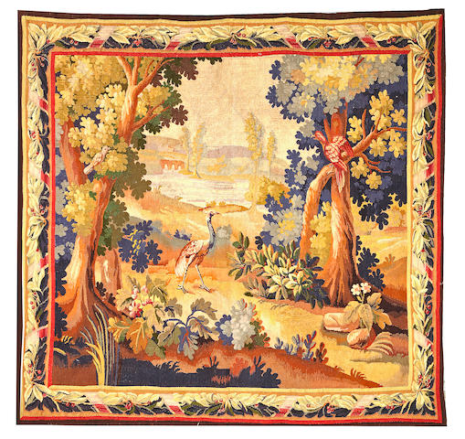 A Brussels Tapestry Brussels size approximately 6ft. x 6ft. 1in.