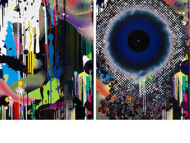 Takashi Murakami (born 1962); Treasure Island/Hidden Jewels of the Mediterranean; Warp; (2)