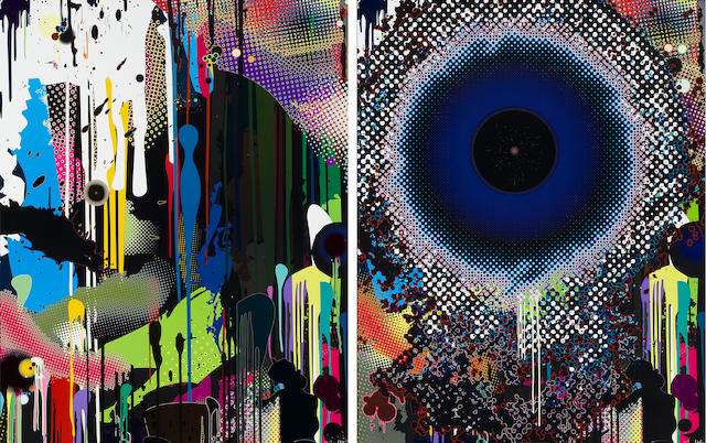 Takashi Murakami (born 1962); Treasure Island/Hidden Jewels of the Mediterranean; Warp; (2)