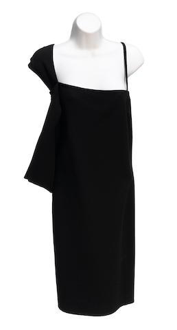 A Mila Schön black cocktail dress