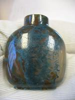A moss agate snuff bottle  1820-1880