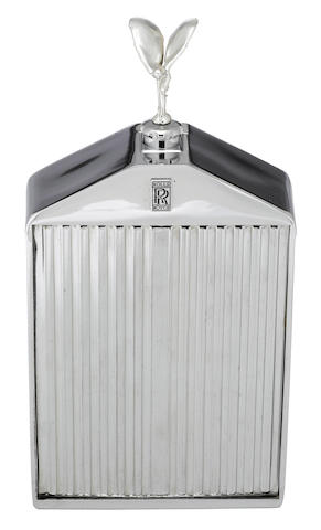A Rolls-Royce radiator decanter by Ruddspeed, British, c .60s,