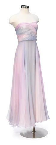 A Ralph Lauren Collection strapless gown