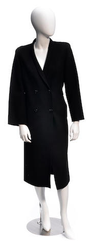 A Salvatore Ferragamo wool coat