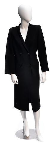 A Salvatore Ferragamo wool coat