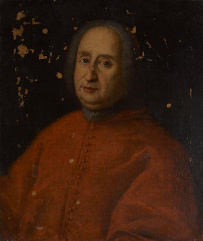 Italian School, 18th Century A portrait of a cardinal, thought to be Cardinal Neri Corsini 27 3/4 x 23in