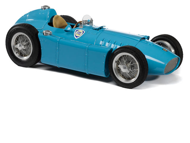 A Jeron Quarter Classics, 1/4 scale Lancia D-50, completed chassis with engine,