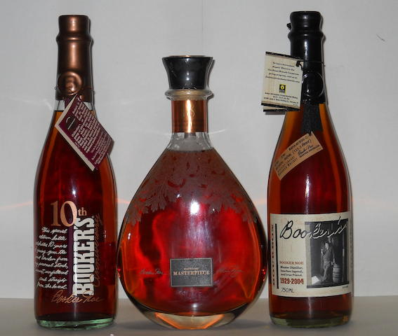 Distiller's Masterpiece- 18 years old  Booker's- 8 years old  Booker's