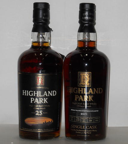 Highland Park- 25 years old<BR /> Highland Park- 34 years old