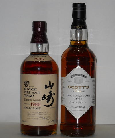 Suntory 1986<BR /> North of Scotland 1964.