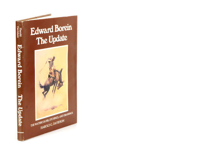 [BOREIN, EDWARD.] DAVIDSON, HAROLD G. Edward Borein: The Update. The Watercolors, Etchings and Drawings. Santa Barbara: the author, 1991.