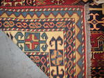 A Bakhtiari rug size approximately 5ft. 5in. x 8ft. 5in.
