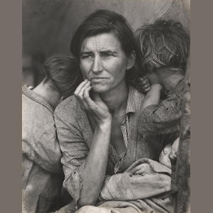 Dorothea Lange, Migrant Mother;