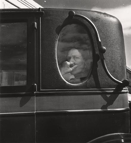 Dorothea Lange, Funeral Cortege;