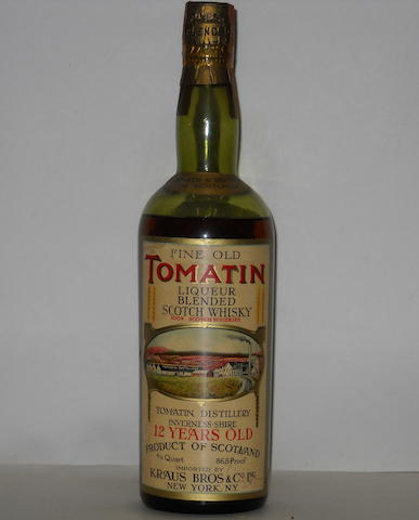 Tomatin Fine Old Liqueur-12 year old