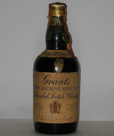 Grant's Own Ancient Reserve-20 year old