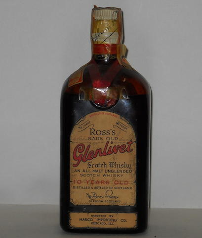 Ross's Rare Old Glenlivet- 10 year old