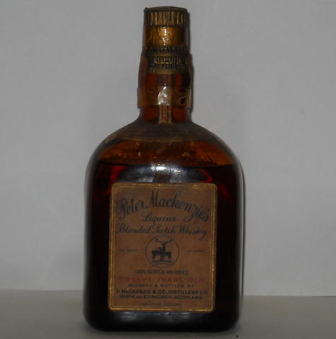 Peter MacKenzie's Liqueur- 12 year old