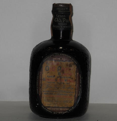Grand Old Parr Brand Rare Liqueur- 12 year old
