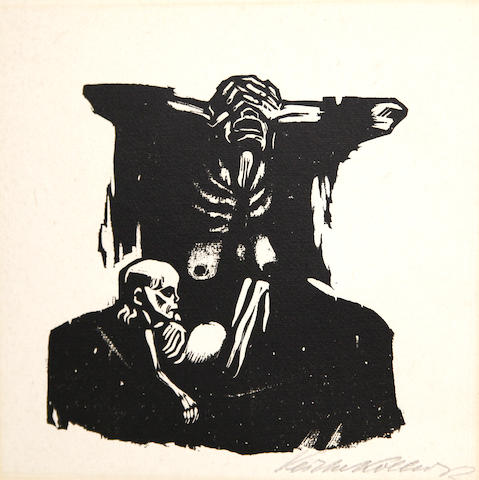 Käthe Kollwitz (German, 1867-1945); Hunger;