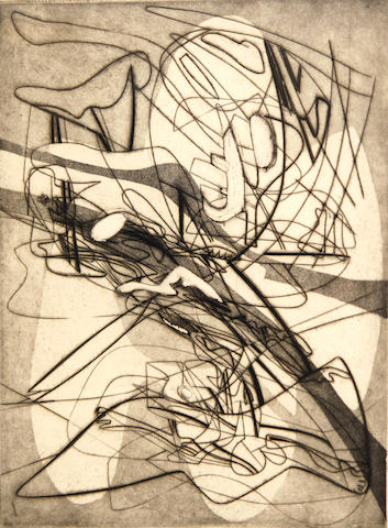 Stanley William Hayter (British, 1901-1988); Myth of Creation;