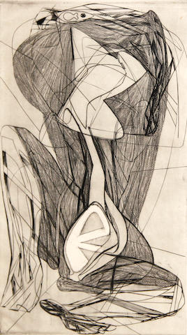 Stanley William Hayter (British, 1901-1988); Pâques;