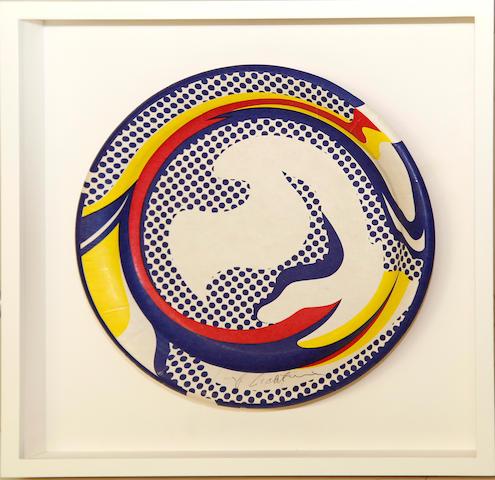 Roy Lichtenstein (American, 1923-1997); Paper Plate;