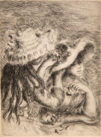 Pierre-Auguste Renoir (French, 1841-1919); Le chapeau épinglé;