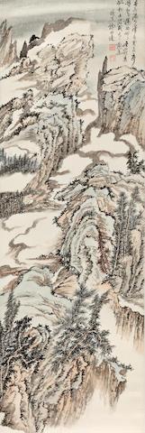 Xu Bangda 徐邦達(born 1911) Landscape