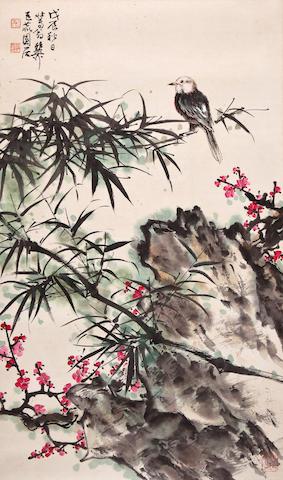 Xie zhiliu bird and flower