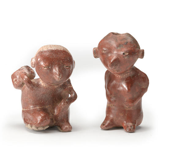 Two Chinesco seated figures