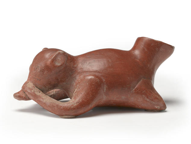 A Colima reclining dog