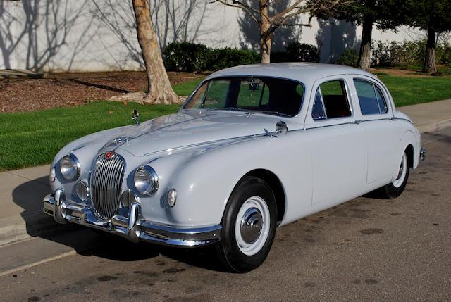 bonhams 1958 jaguar mk1 3 4 liter saloon chassis no 98650 engine no ke34968 bonhams 1958 jaguar mk1 3 4 liter