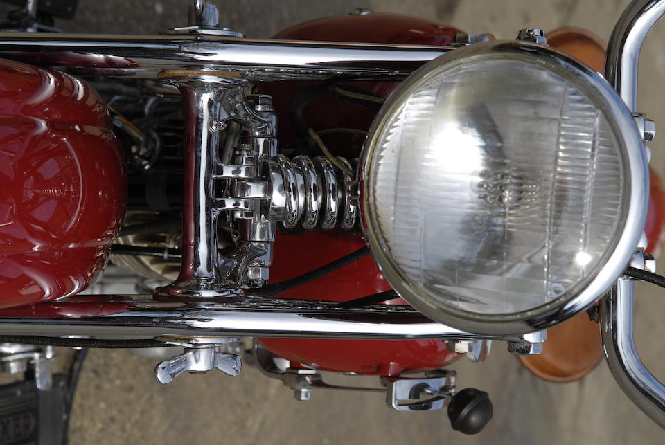 1937 Crocker V-Twin Engine no. 37-61-25