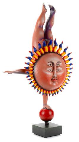 A Sergio Bustamante Standing Sun figure