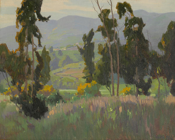 Elmer Wachtel, Springtime in the Foothills