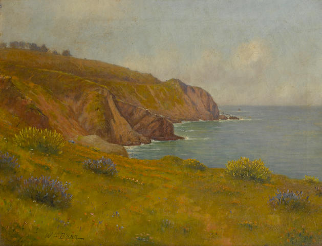 William Barr (British/American, 1867-1933) Land's End, Golden Gate 18 1/4 x 24 1/4in