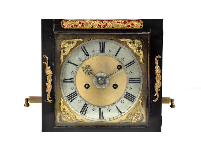 Bracket clock by Joseph Knibb