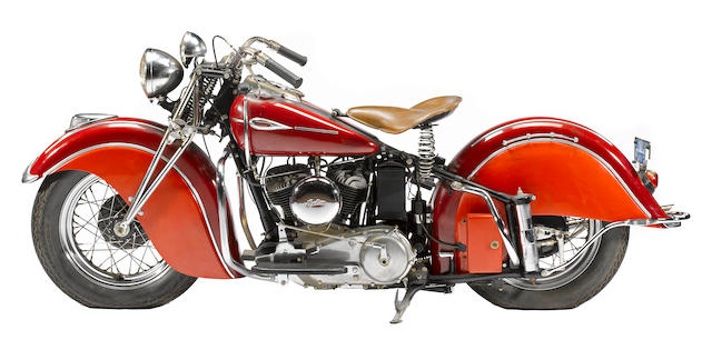 1941 Indian Scout Frame no. FDA934
