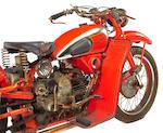 1952 Moto Guzzi Falcone Frame no. 25692 Engine no. V80922