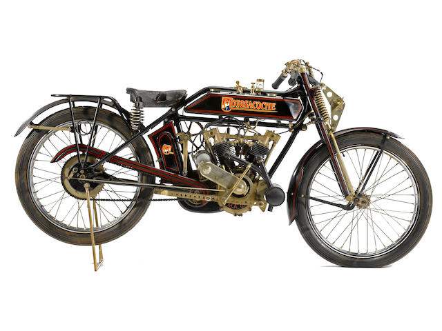 1922 Motosacoche V-Twin Frame no. 1507 Engine no. 2C1043335