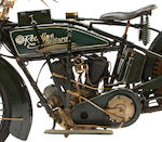 1918 Reading Standard V-Twin Engine no. 81344