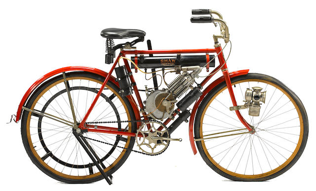 1907 Shaw Motorized Bicycle