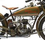 c.1928 Harley-Davidson Model B-Single Engine no. B11781