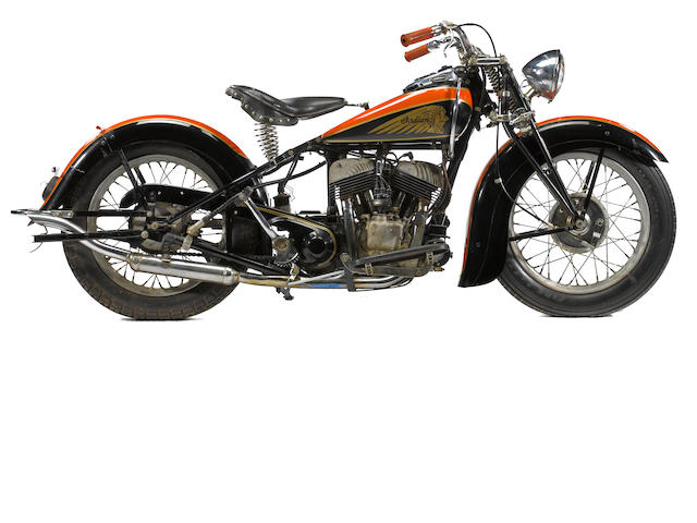 c.1938 Indian Scout Engine no. FC1101