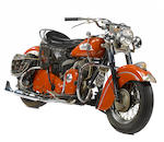 1952/3 Indian Chief Frame no. CSG1071 Engine no. CS61071