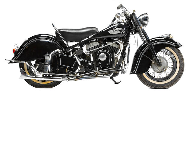 1953 Indian Chief Engine no. CS6679