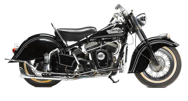 1953 Indian Chief Frame no. CS6679 Engine no. CS6679