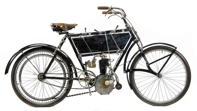 1902 Peugeot  Frame no. 3135 Engine no. 3689